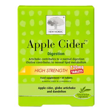 New Nordic Apple Cider Tablets 720mg 60s