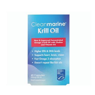 Cleanmarine Krill Oil 60 Capsules