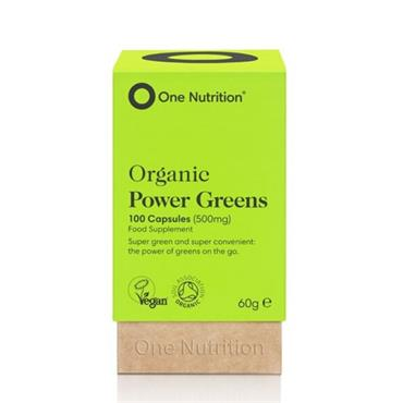 One Nutrition Power Greens Capsules 100s