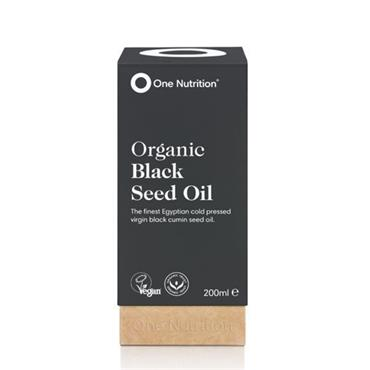 One Nutrition Organic Black Seed Oil 200ml