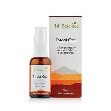 Irish Botanica Throat Coat Spray 30ml