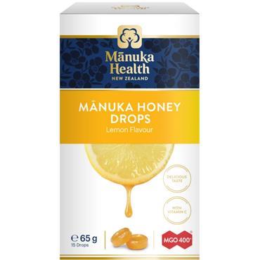 Manuka Health Manuka Honey Lozenges with Lemon 15s