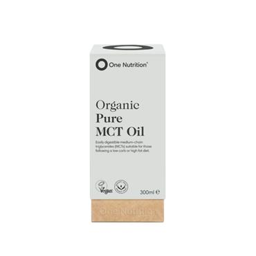 One Nutrition Organic MCT Oil 300ml