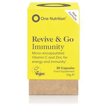 One Nutrition New Formula Revive & Go Immunity Ester-C 500mg 30s