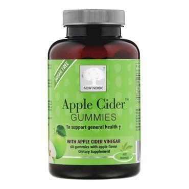 New Nordic Apple Cider Gummies 200mg 60s