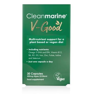 CLEANMARINE V-Good Vegan Omega 30s
