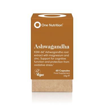 One Nutrition Ashwagandha 60s