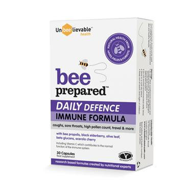 Unbeelievable Health Bee Prepared Daily Defence 30 Capsules