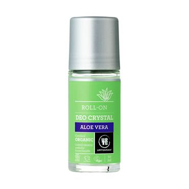 Urtekram Organic Aloe Vera Crystal Deodorant Roll-On 50ml