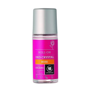 Urtekram Organic Rose Crystal Deodorant Roll-on 50ml