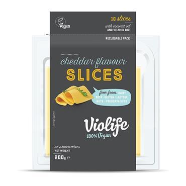 Violife Slices Cheddar Flavour 200g