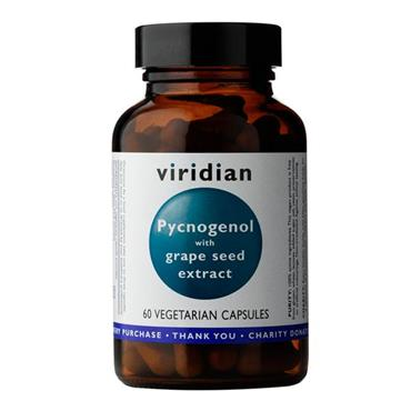 Viridian Pycnogenol with Grape Seed Extract 30 Capsules