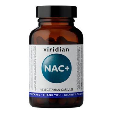 Viridian NAC+ (N-Acetyl-L-Cysteine) 60 Capsules
