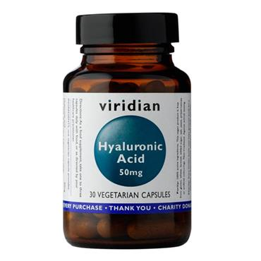 Viridian Hyaluronic Acid 50mg 30 Capsules