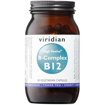 Viridian High Twelve Vitamin B12 Complex 90s