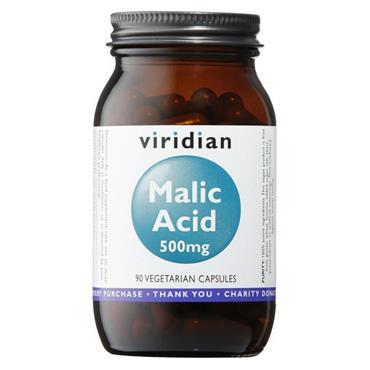 Viridian Malic Acid 500mg 90 Capsules