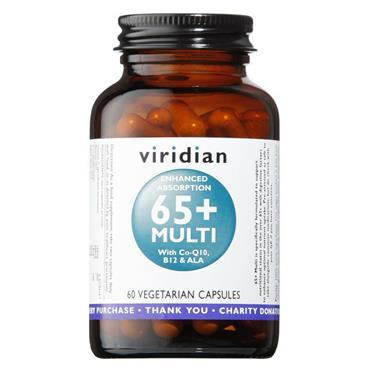 Viridian 65+ Multivitamin 60 capsules