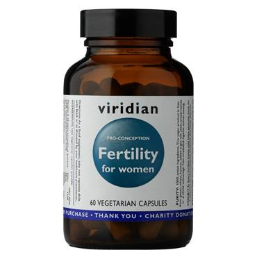 Viridian Fertility for Women 60 capsules