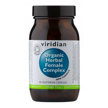 Viridian Organic Herbal Female Complex 90 Capsules