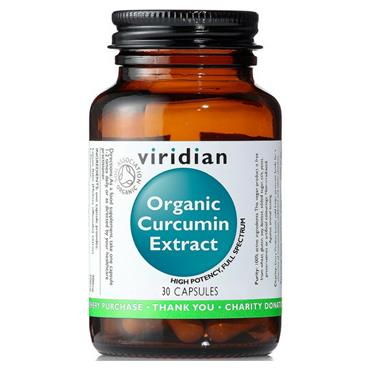Viridian Organic Curcumin Extract 60s