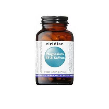 Viridian Magnesium, B6 and Saffron 60 capsules