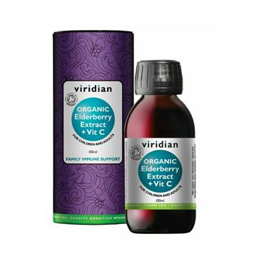 Organic Elderberry Elixir 100ml