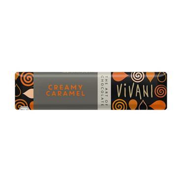 Vivani Organic Creamy Caramel Bar 40g