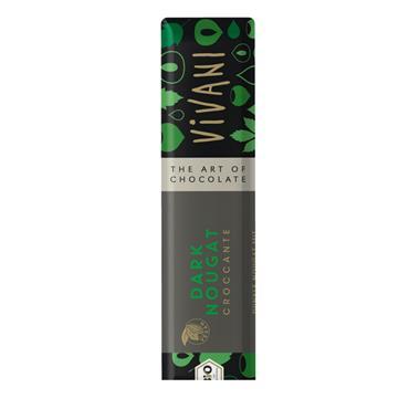 Vivani Organic Croccante Dark Nougat 35g