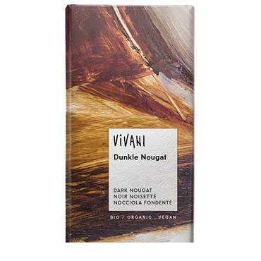Vivani Organic Dark Nougat Chocolate 100g