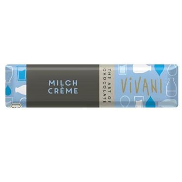 Vivani Organic Creme Milk Bar 40g