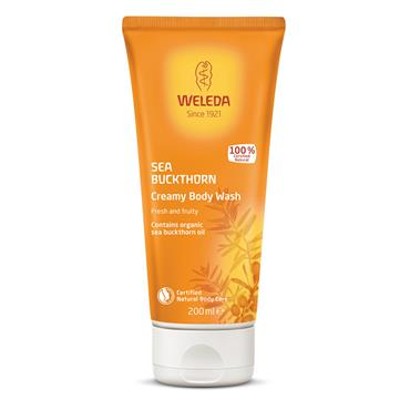 Weleda Sea Buckthorn Creamy Body Wash 200ml