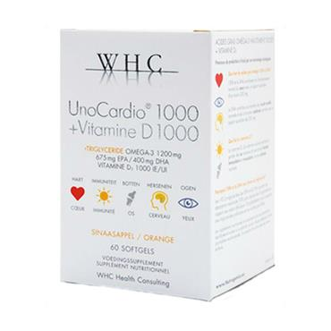 WHC UnoCardio 1000 60 Softgels