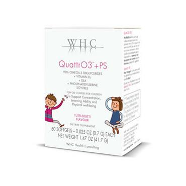 WHC Quattro3 + PS Omega 3 60s for Children