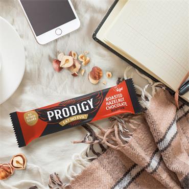 Prodigy Gluten Free Hazelnut Chocolate Bar 35g