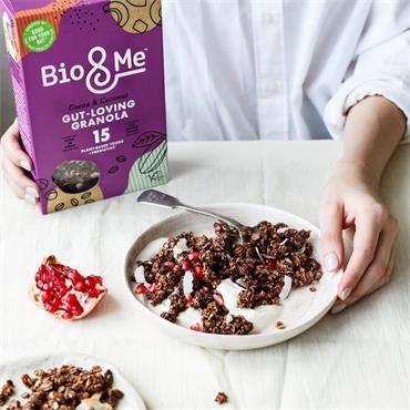 BIO&ME Cocoa & Coconut Gut Loving Granola 360g