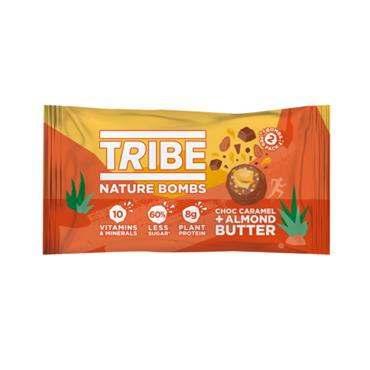 TRIBE Nature Bombs Chocolate Caramel & Almond Butter 40g