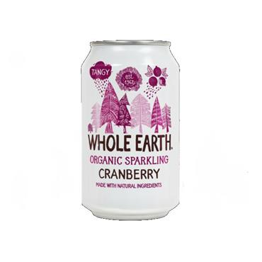 Whole Earth Sparkling Organic Cranberry Drink