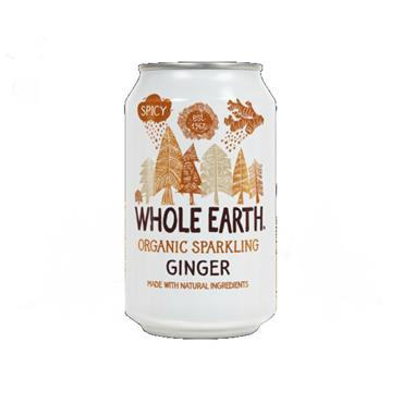 Whole Earth Sparkling Organic Ginger Drink 330ml