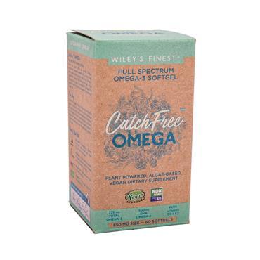 WILEY Catch-Free Omega 3 Vegan 60s