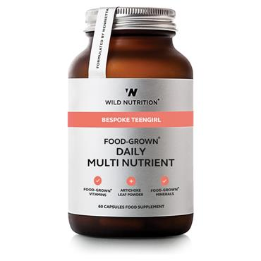 Wild Nutrition Food-Grown Daily Multi Nutrient Teengirl 60 capsules
