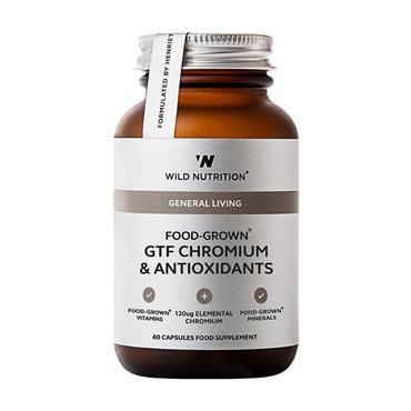 Wild Nutrition GTF Chromium & Antioxidants 60 Capsules