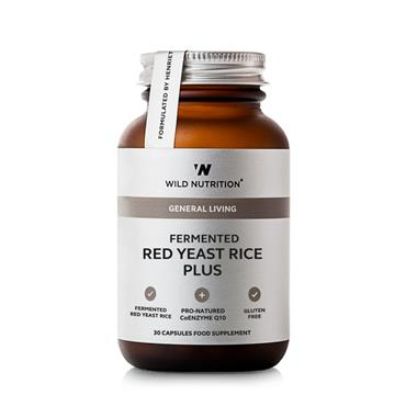 Wild Nutrition Fermented Red Yeast Rice Plus