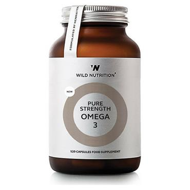 Wild Nutrition Pure Strength Omega 3 120 capsules