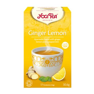 Yogi Tea Organic Ginger Lemon Tea - 15 Teabags