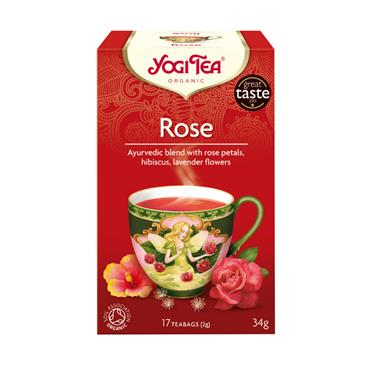 Yogi Tea Organic Rose Teabags