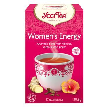Yogi Tea Organic Women's Energy Teabags - 15 Teabags