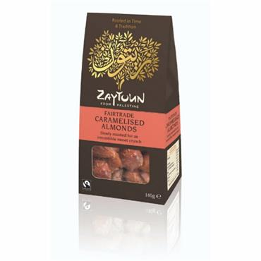 Zaytoun Caramelised Almonds 140g