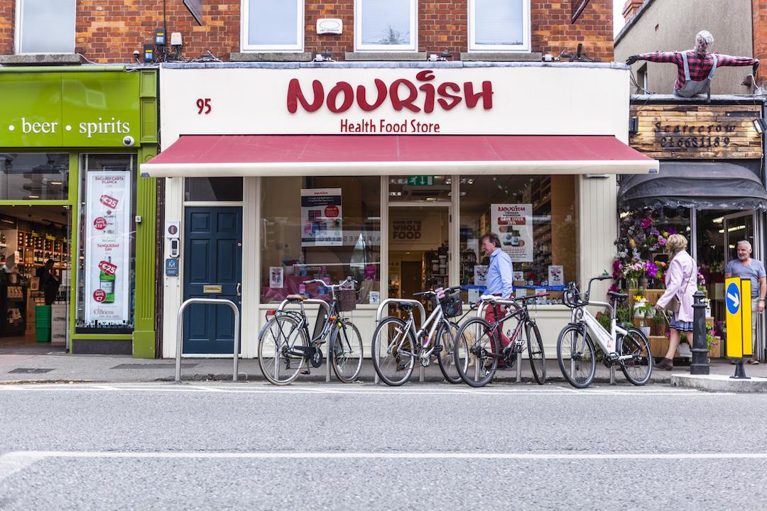 Nourish storefront