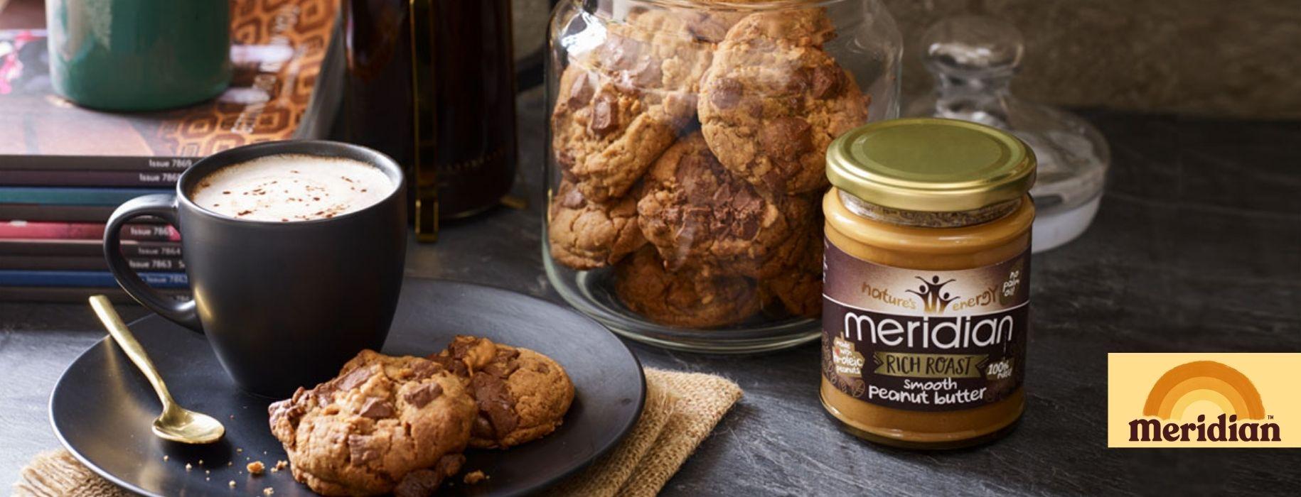 Meridian Rich Roast Peanut Butter Banner