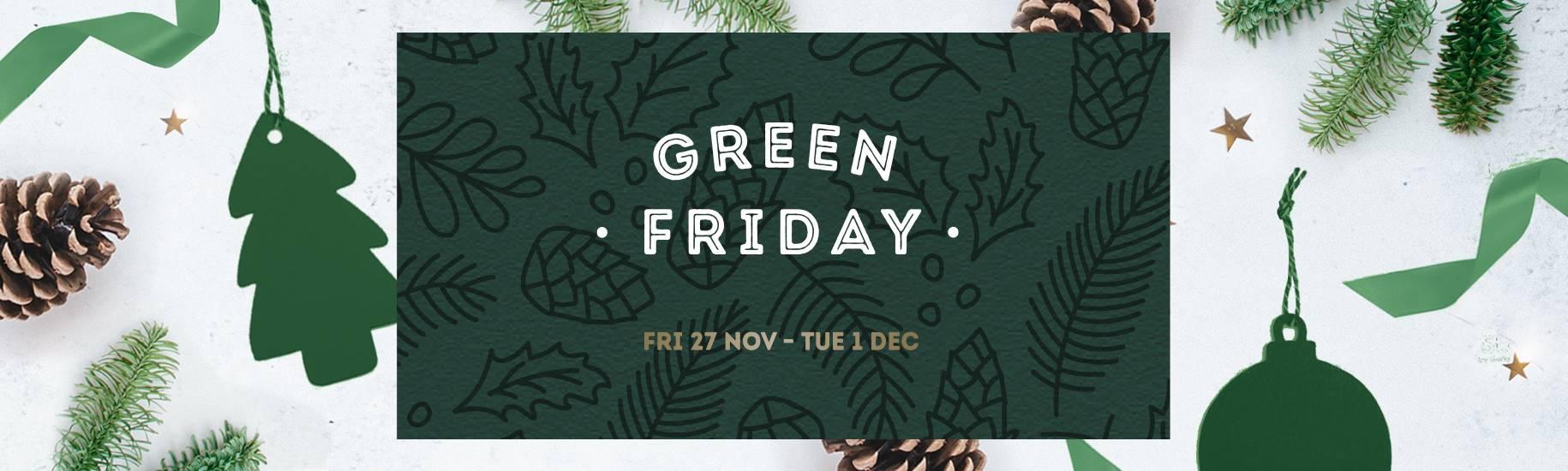 Nourish Green Friday Black Friday